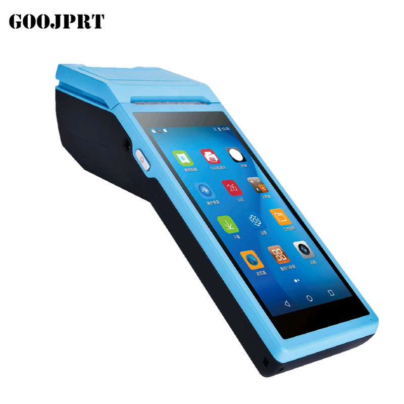 3G Android Wireless Pos Terminal 58mm Max Paper Size With Customized UI Design