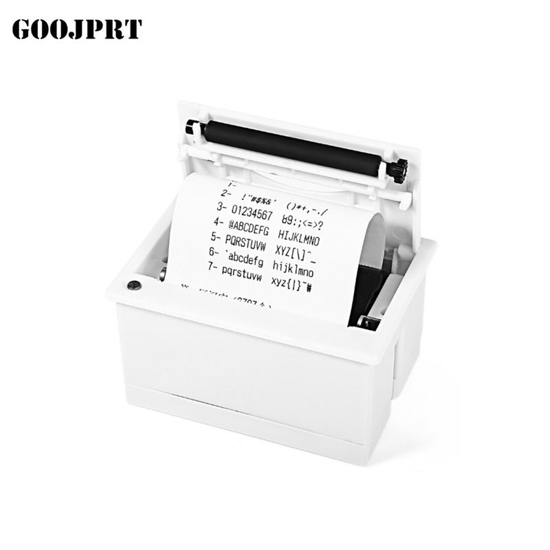 White Color Thermal Panel Printer Install Inlet Size 111*65mm For Electronic Instruments