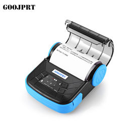 Small Portable Bluetooth Printer 80mm Paper Width For Traffic Police Printing