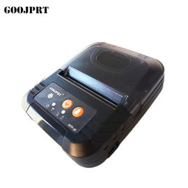 China 3 Inch 80mm Bluetooth Mobile Printer , Small Portable Printer With USB Cable Charging factory