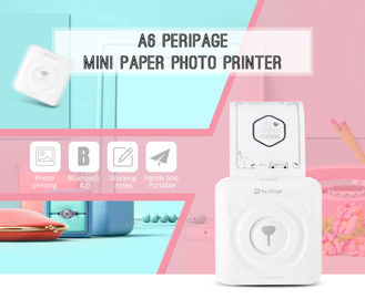 China Cute Shape Mobile Photo Printer Bluetooth Host Function Photo Pocket Sticker factory