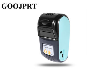 Black Color Portable Bluetooth Printer 58mm Wireless Receipt Machine With Leather Case