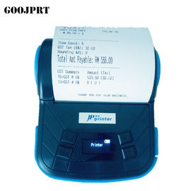 China Mini 3 Inch Portable Thermal Printer 90 MM/Sec Black Print Speed In Stock factory