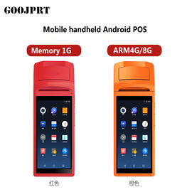 Android 5.1 Mini Handheld POS Terminal Thermal Printer Type Stable Operating
