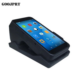 Wireless 3G Handheld POS Terminal 90mm/s Printing Speed For Retail / Restaurant
